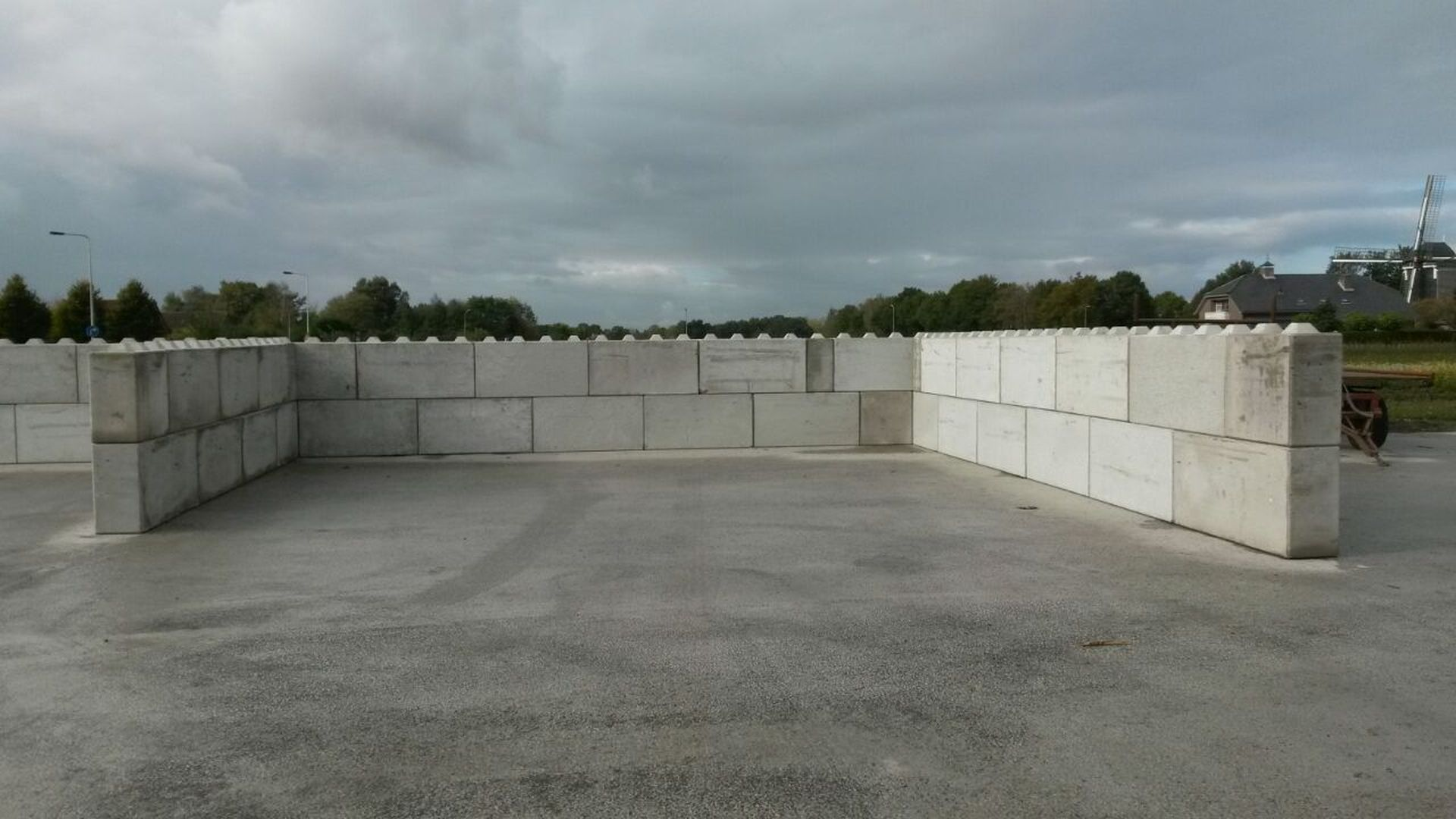 Megablokken plaatsen 160x40x80, 80x40x80 en 40x40x80 | Project Zundert