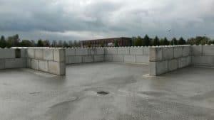 Toepassingen betonblokken | Scheidingsmuren of keerwanden voor bulkgoederen