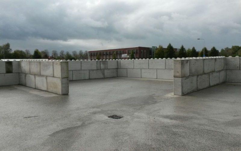 Megablöcke platzieren | De Keij Betonplaten aus Dodewaard (NL)