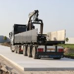 Toegangsweg | Leggen betonplaten 200x200x.16cm | De Keij Betonplaten