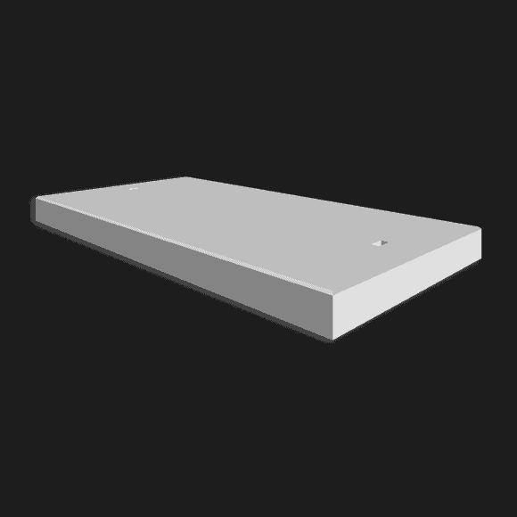 Betonplaat afmetingen 200x100x.12/.14/.16cm