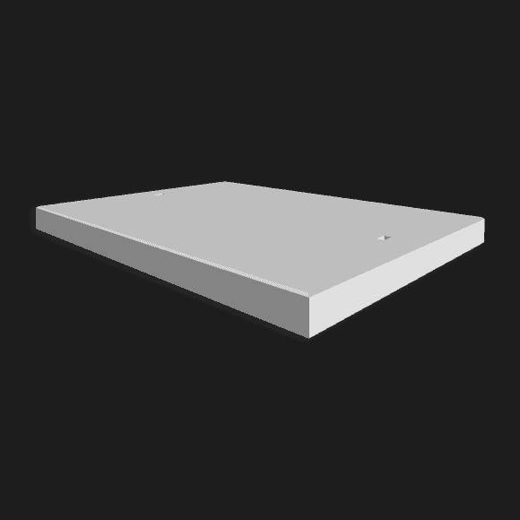Betonplaat afmetingen 200x150x.12/.14/.16cm