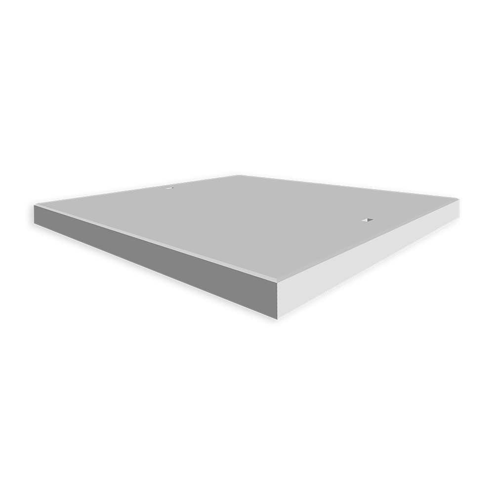 Betonplaat 200 x 200 - Betonplaten