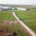 De Keij Betonplaten | Project Medel | Toegangsweg