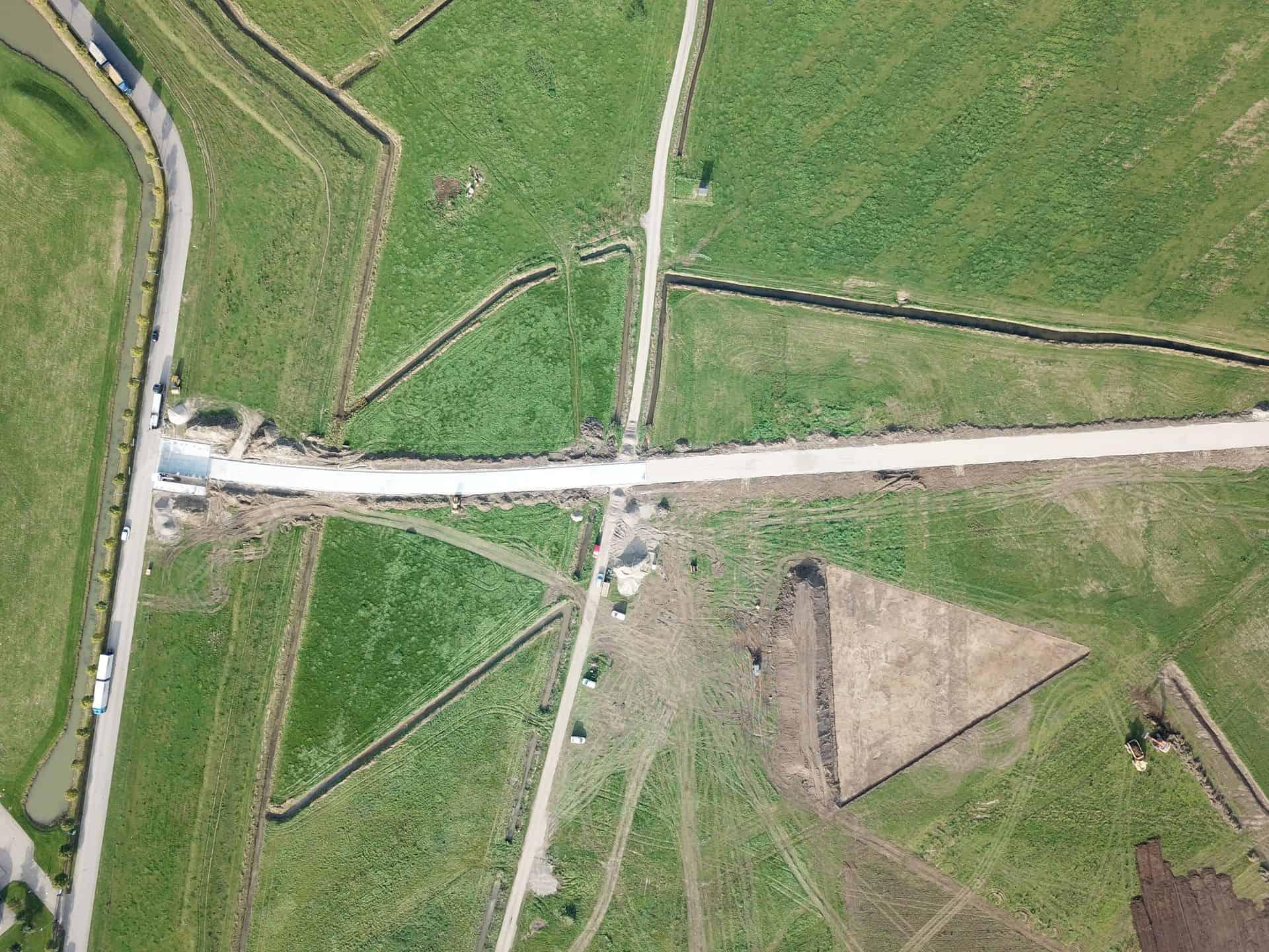 De Keij Betonplaten & Keerwanden | Project Tiel | Toegangsweg