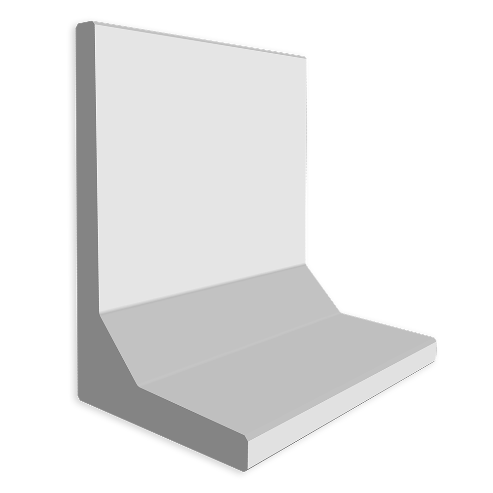 Keerwand afmeting (lxbxh) 100x100x60cm