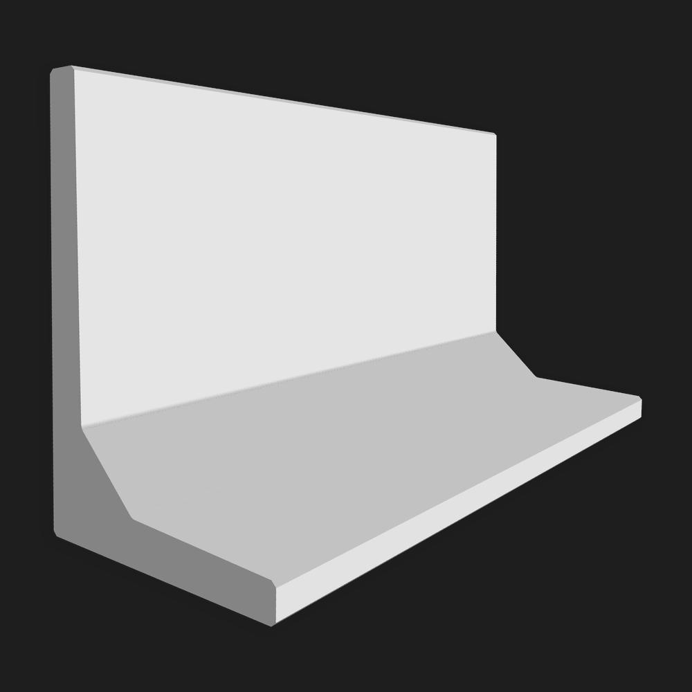 Keerwand afmeting (lxbxh) 200 x 100 x 60