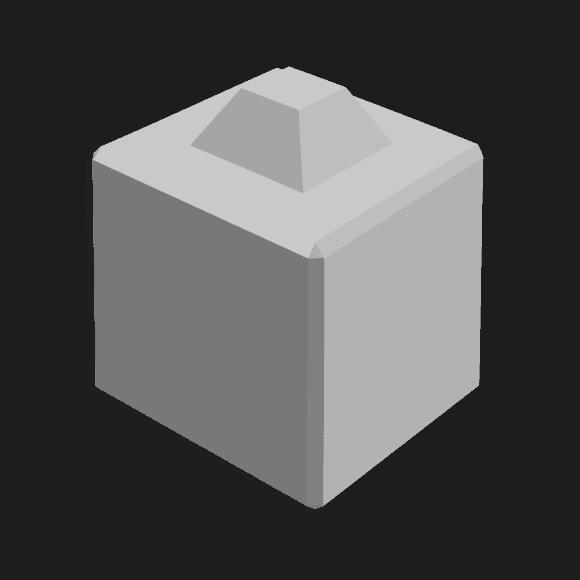 Megablok afmeting 40x40x40cm (1 nok)