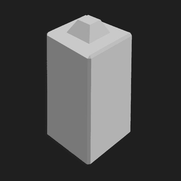 Megablok afmeting 40x40x80cm (1 nok)
