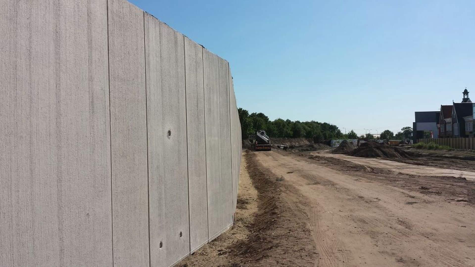 Project Tilburg | Plaatsing keerwanden