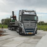 Betonplaten leggen (200x200x.16) | Project terreinverharding 2015 |