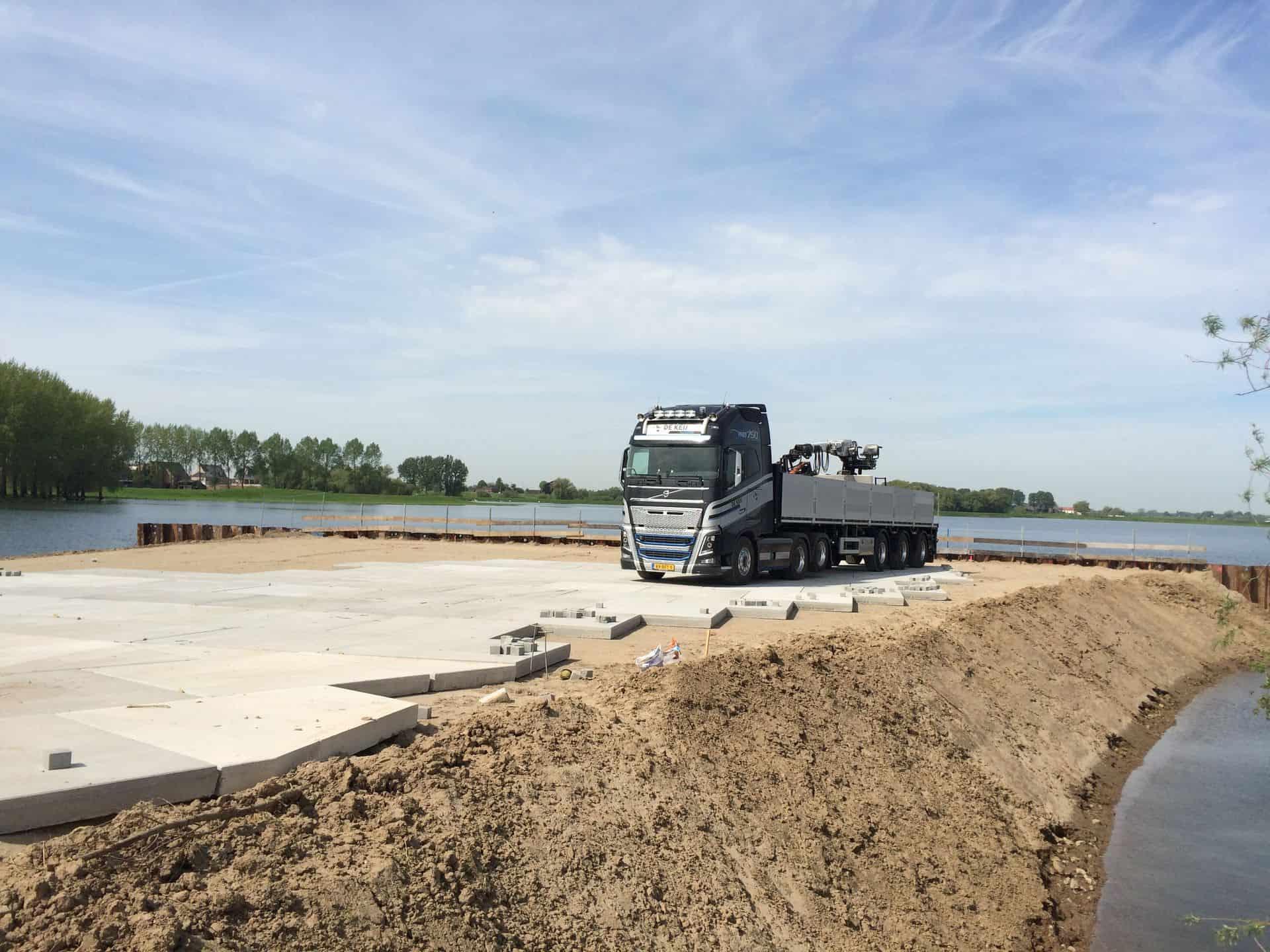 Terreinverharding   Project Opheusden   Dijkverzwaring