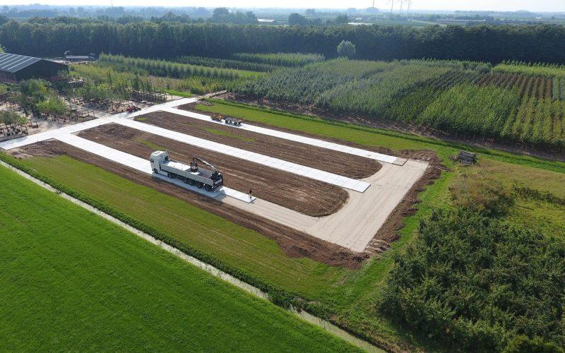 Betonpaden boomkwekerij Opheusden | De Keij