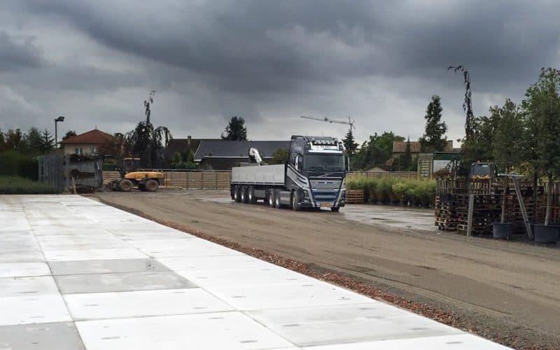 Terreinverharding kwekerij Project België | De Keij