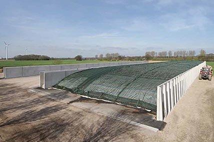 Agrarische sector | Sleufsilo's | Keerwanden en betonplaten | De Keij
