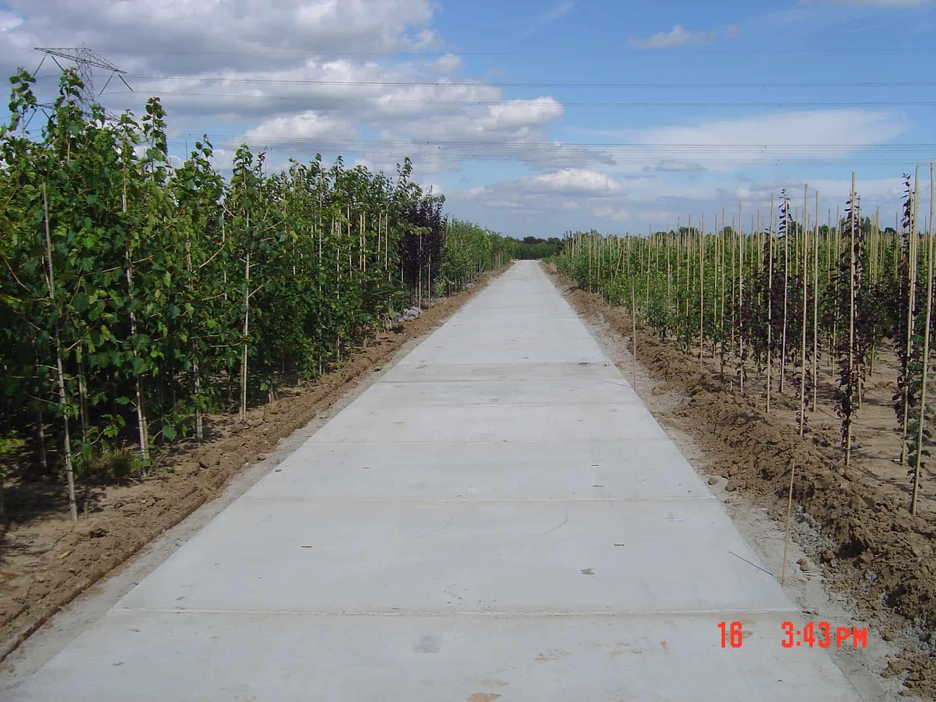 Project diverse kwekerijen | Kavelpaden | De Keij
