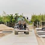 Betonplatten 200x200 cm verlegen | De Keij aus Dodewaard