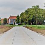 Zufahrtswege Betonplatten | Projekt Baumschule Opheusden