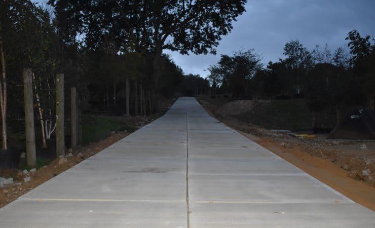 Projekt Flamstead (UK) | Realisierte Zufahrtsweg | De Keij Betonplaten