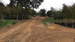 Project Flamstead | Onverhard toegangsweg september 2018