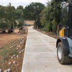 Projekt Flamstead (UK) | Verlegen von Betonplatten mit Lader