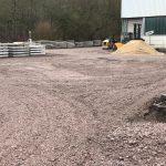 Installation einer Schuttstrecke | De Keij Betonplaten