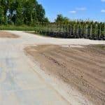 Parzellenwege mit Betonplatten 200x200 cm