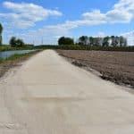 Fertiger Betonwege | Betonplattengröße 300x120x.12cm