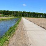 Betonwege Dodewaard (NL) | Betonplattengröße 200x200x.14cm