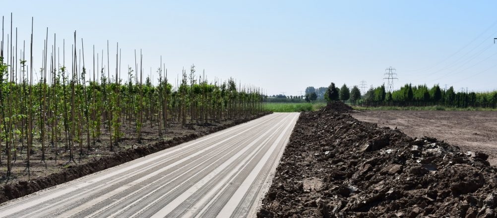 Sandbett für Betonplatten | De Keij Betonplaten