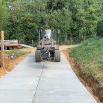 Toegangsweg betonplaten | De Keij Betonplaten