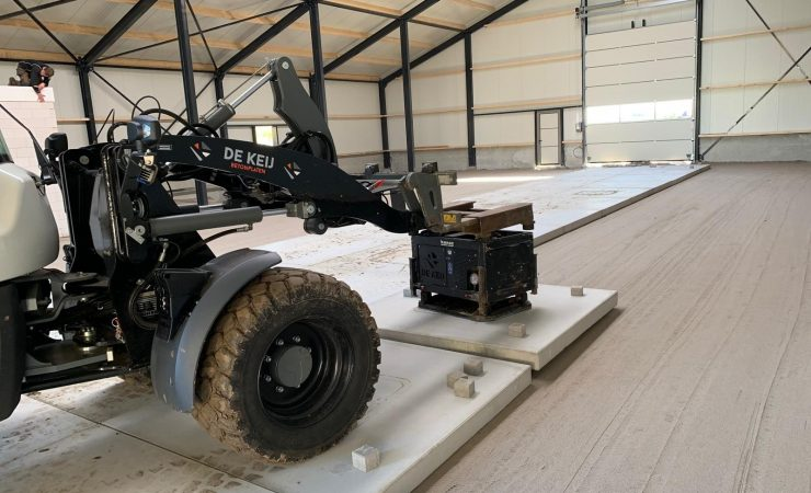 Project Opheusden | Betonnen verharding schuur | De Keij