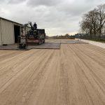 Gebrauchten Betonplatten verlegen | De Keij
