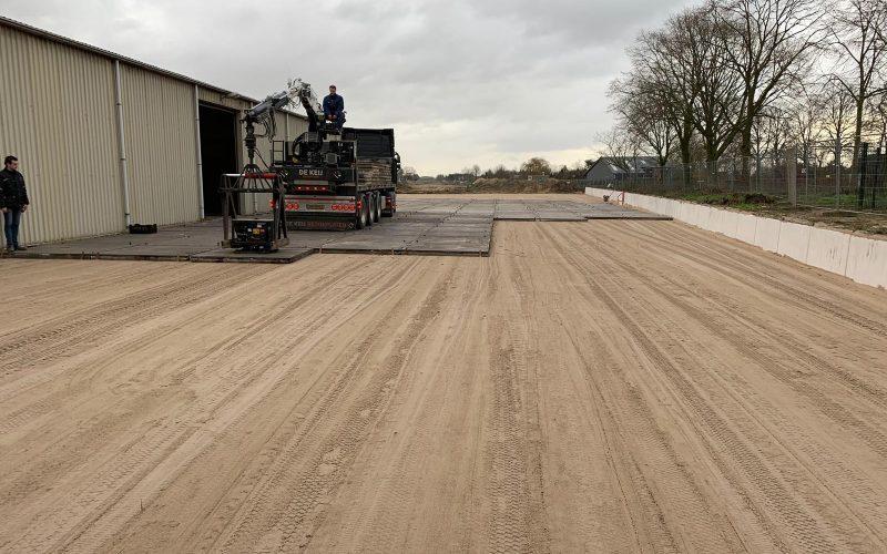 Gebruikte betonplaten | De Keij