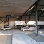 Betonplaten leggen   Project Beesd   De Keij