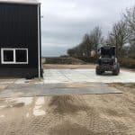 Betonplatten 200x200 cm verlegen | De Keij