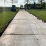 Kavelpad met betonplaten | Project Ommeren | De Keij