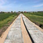 Betonplaten leggen   Project Leidschendam   De Keij   Dodewaard