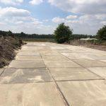 Gebruikte betonplaten   Project Wellerlooi