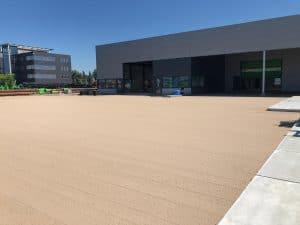 Sandbahn für Betonplatte 200x200 cm | De Keij