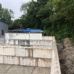 Betonblokken plaatsen   Project Südbrookmerland   De Keij