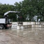 Megablokken stapelen   Opslag bulkgoederen   De Keij
