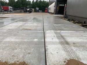 Betonplaten 200x200 | Terreinverharding met betonplaten | De Keij