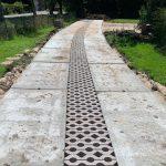 Betonplaten plaatsen | Toegangsweg met betonplaten