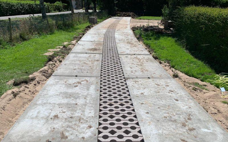 Einfahrt Betonplatten | De Keij
