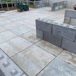 Betonplaten - betonblokken