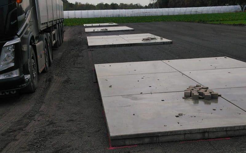 Betonplaten verharding | Project Bergheim | De Keij