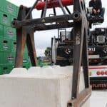Betonblok 160x80x80 cm plaatsen | De Keij Betonplaten