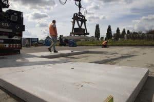 Hijsvoorziening betonplaten