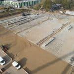 betonplaten 200x200 cm plaatsen | De Keij